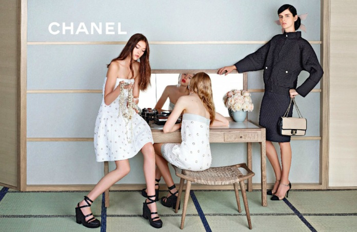 Chanel Spring Summer 2013 Campaign by Karl Lagerfeld4